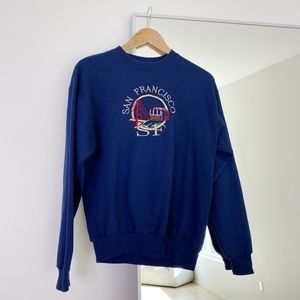 San Fransisco Navy Sweatshirt